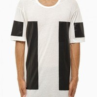 Off-white t-shirt from F/W2014-15 Boris Bidjan Saberi 11 collection in white.