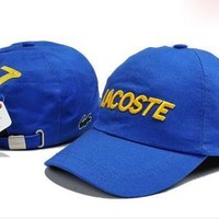 Lacoste Women Men Embroidery Hip Hop Sport Baseball Cap Hat-27