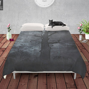 The dirty winter spirit Duvet cover
