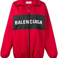 Oversized Tech Ripstop Jacket by Balenciaga