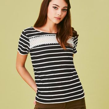 Naf Naf Striped Top