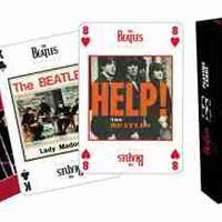 The Beatles - Singles Playing Cards