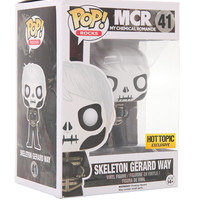 Funko My Chemical Romance Pop! Rocks Skeleton Gerard Way Hot Topic Exclusive