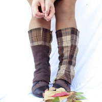 The Sherlock Holmes boot spats, reversible and warm for women and men