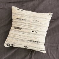 Chenille Patterned Pillow