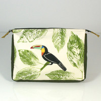 Hand Painted Make-up Bag - Toucan