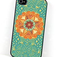 Teal and Orange Renaissance or Celtic by DecorativeDesignWKS