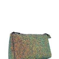 Iridescent Sequin Makeup Bag