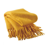 Sunny Disposition Throw in Yellow