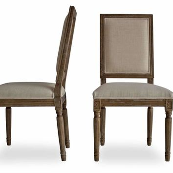 Olivia French Country Dining Chairs, Set of 2