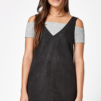 Kendall and Kylie Faux Suede Shift Dress at PacSun.com