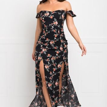 Pamela Maxi Dress - Black