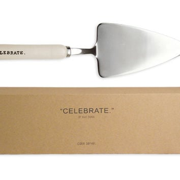 Celebrate Cake Server with Gift Box by Rae Dunn