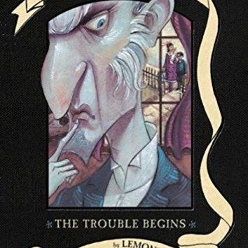 The Trouble Begins A Series of Unfortunate Events BOX