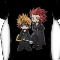 Roxas and Axel - Kingdom Hearts Women's T-Shirt