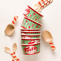 Tasty Vintage Style Ice Cream Cup Party Pack