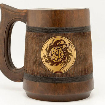 Dungeons and Dragons dice D20 mug Dungeon and dragons D20 DnD dice mug D&D Dungeons and Dragons mug