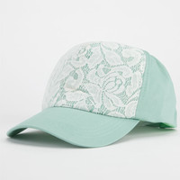 Lace Overlay Womens Hat Mint One Size For Women 22867252301