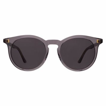 Illesteva Sterling II 52mm Mercury Sunglasses / Black Lenses