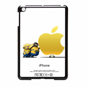 Despicable Me Minions Apple Logo iPad Mini Case