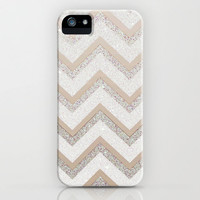 *** GLITTER NUDE CHEVRON *** iPhone & iPod Case  for your luxury style! iPhone 5 + 4 + 3  + Samsung Galaxy + iPad + iPod *** NEW!!!