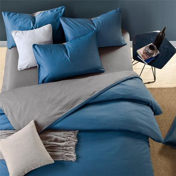 On Sale Hot Deal Bedroom Bedding Cotton Double Color Bedding Set [11620543951]
