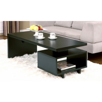 Furniture of America Open-cabinet Coffee Table | Overstock.com Shopping - The Best Deals on Coffee, Sofa & End Tables
