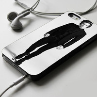 Harry Styles Black And White iPhone 4 Case Sintawaty.com
