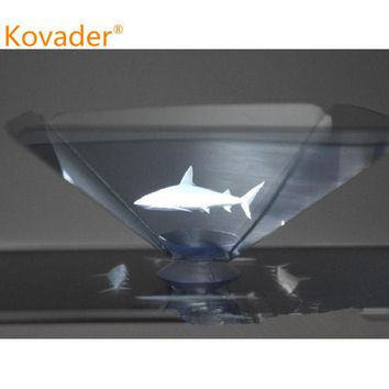 Kovader Smartphone Hologram Advertise 3D holo box Holographic tablet showcase pyramid mobile phone box display Type