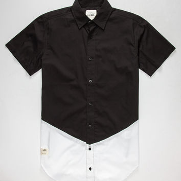 Lira V-Side Mens Shirt Black  In Sizes