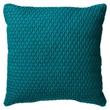 "Room Essentials® Solid Textured Toss Pillow (18x18"")"
