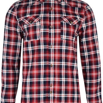 Bellfield Daintree Long Sleeve Flannel Check Shirt