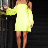 Countryside Barbie Dress: Chartreuse | Hope's