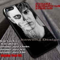 Horror Story | People | Evan Peters iPhone 6s 6 6s+ 6plus Cases Samsung Galaxy s5 s6 Edge+ NOTE 5 4 3 #movie #AmericanHororStory ii
