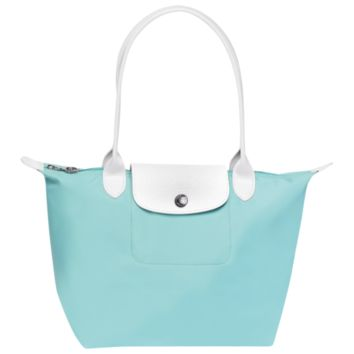 Tote bag - Sarah Morris - Handbags - Longchamp - Robin's egg blue - Longchamp United-States