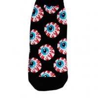 Eyeball Ladies Ankle Socks :: VampireFreaks Store :: Gothic Clothing, Cyber-goth, punk, metal, alternative, rave, freak fashions