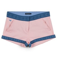 The Hannah Short in Camelia by Southern Marsh