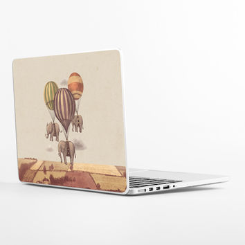 Flight of the Elephants Laptop Skin