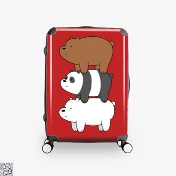 Bear Stack, We Bare Bears Suitcase