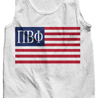 Pi Beta Phi USA Tank Top