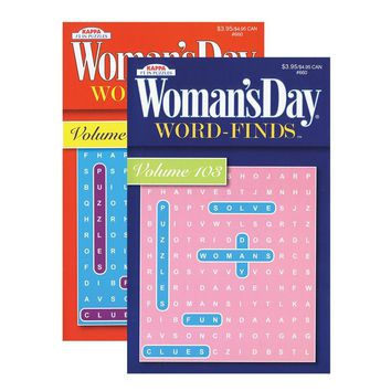 KAPPA Woman's Day Word Finds Puzzle Book-Digest Size 48 Books Set