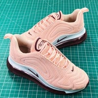 Nike  Air Max 720 Pink Sport Running Shoes - Best Online Sale