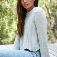 LA Hearts Scalloped Hem Pullover Sweater at PacSun.com