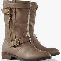 Slip On Moto Boot from EXPRESS