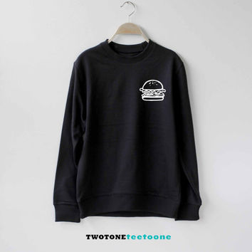 Hamburger Sweatshirt Sweater Unisex