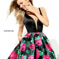 Sherri Hill - 50596 - Formal Dress - Homecoming Gown - 50596