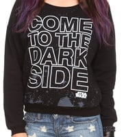 Star Wars Dark Side Slash Girls Pullover