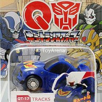 Q Transformers Series 06 QT-17 Tracks Chevrolet Corvette C7 Action Figure