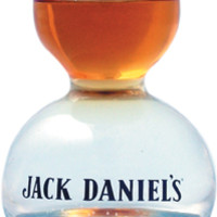Jack Daniel's Shot Glass Double Bubble