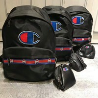 Champion tide brand men and women couple backpack F-ZDL-STPFYF